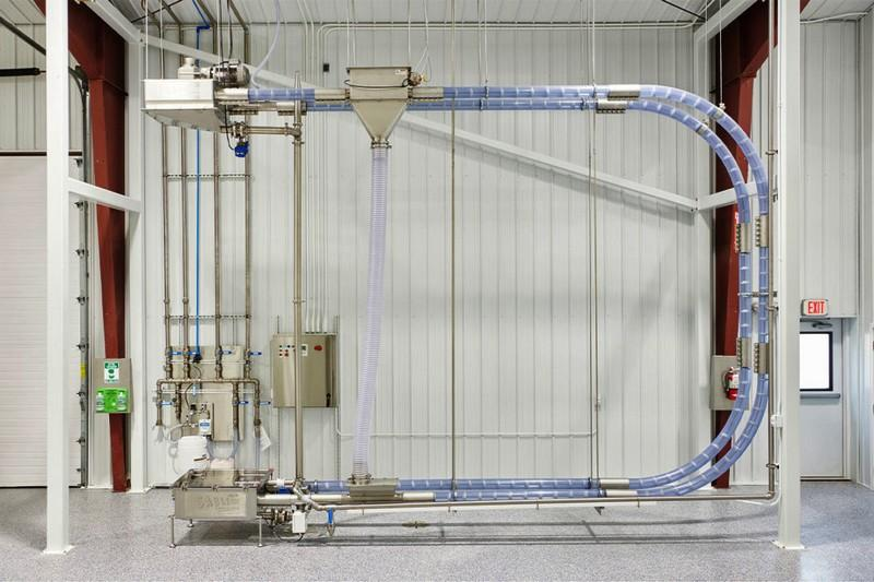 Interested on moving materials in a safe clean and efficient manner? Cablevey Tubular Drag Conveyor has the right Solution