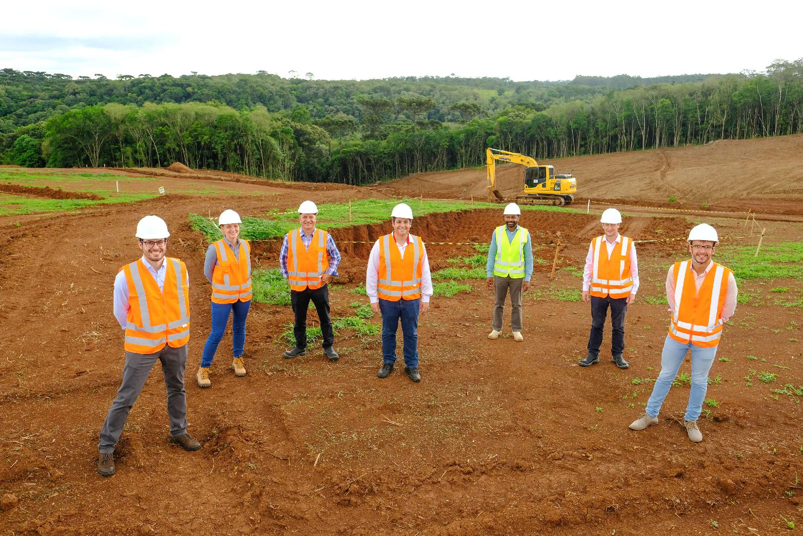 Araucaria: the new Diana Pet Food plant is underway