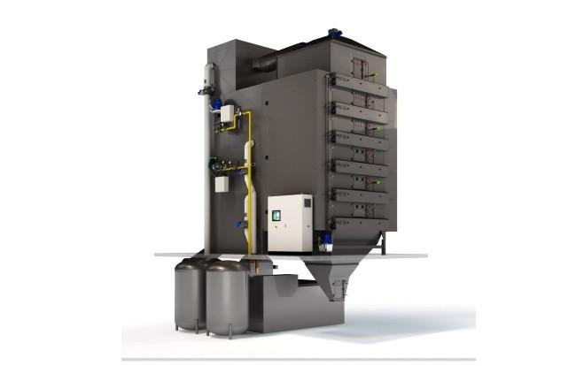 Second Electric Dryer sold to China - Geelen Counterflow