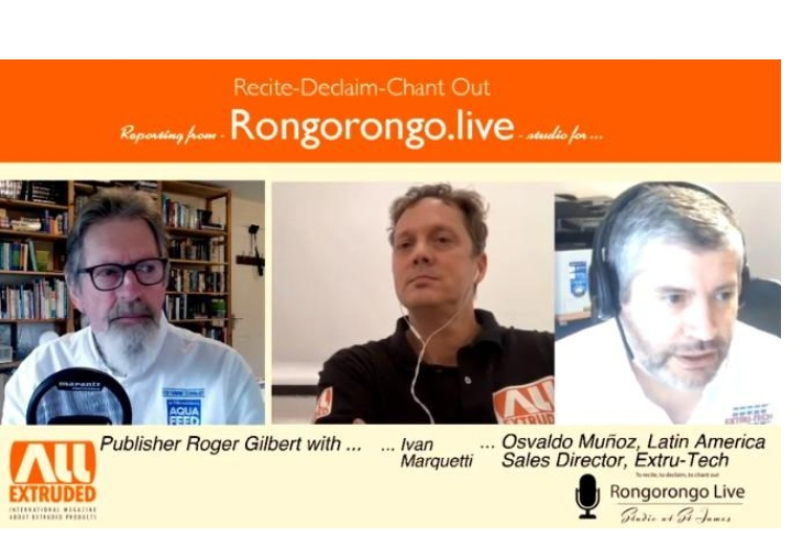Talking about Extrusion Process in Rongorongo Live with Osvaldo Muñoz